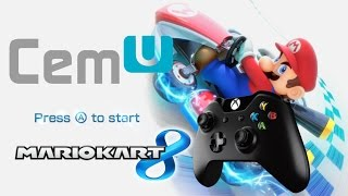 Mario Kart 8 Gameplay (Cemu PC XBOX one S controller)
