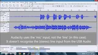 how to do multitrack recording with audacity usb audio interface and or a mixer