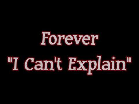Forever - I Can't Explain (Chinese Melodies)