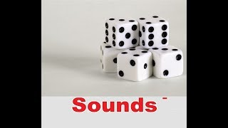Dice Roll Sound Effects All Sounds