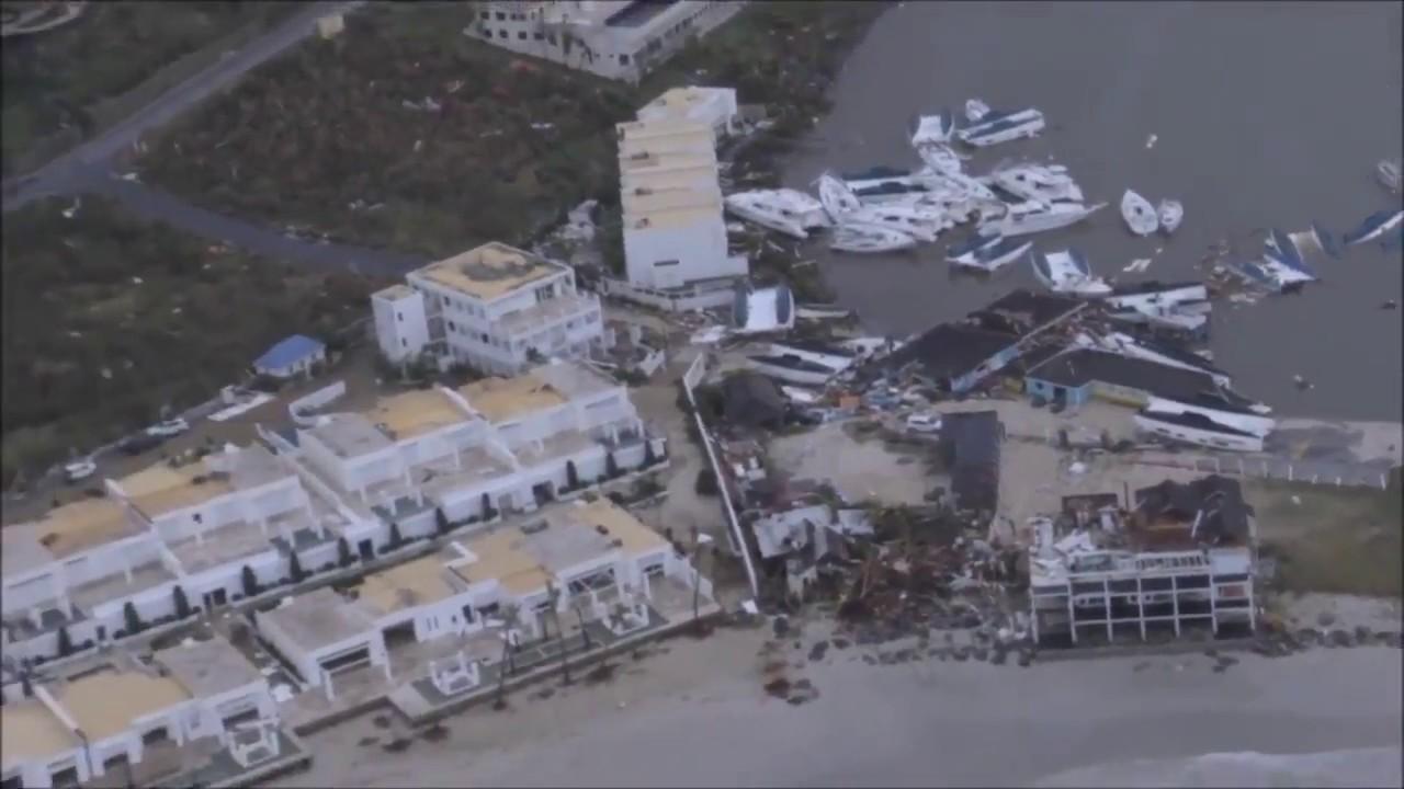 St Maarten Saint Martin After Hurricane Irma On Sept