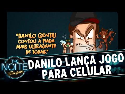 The Noite (23/03/16) - Danilo Gentili Lança Jogo Para Celulares