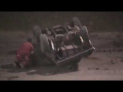 Pure Stock Crash @ Placerville Speedway 7/4/17