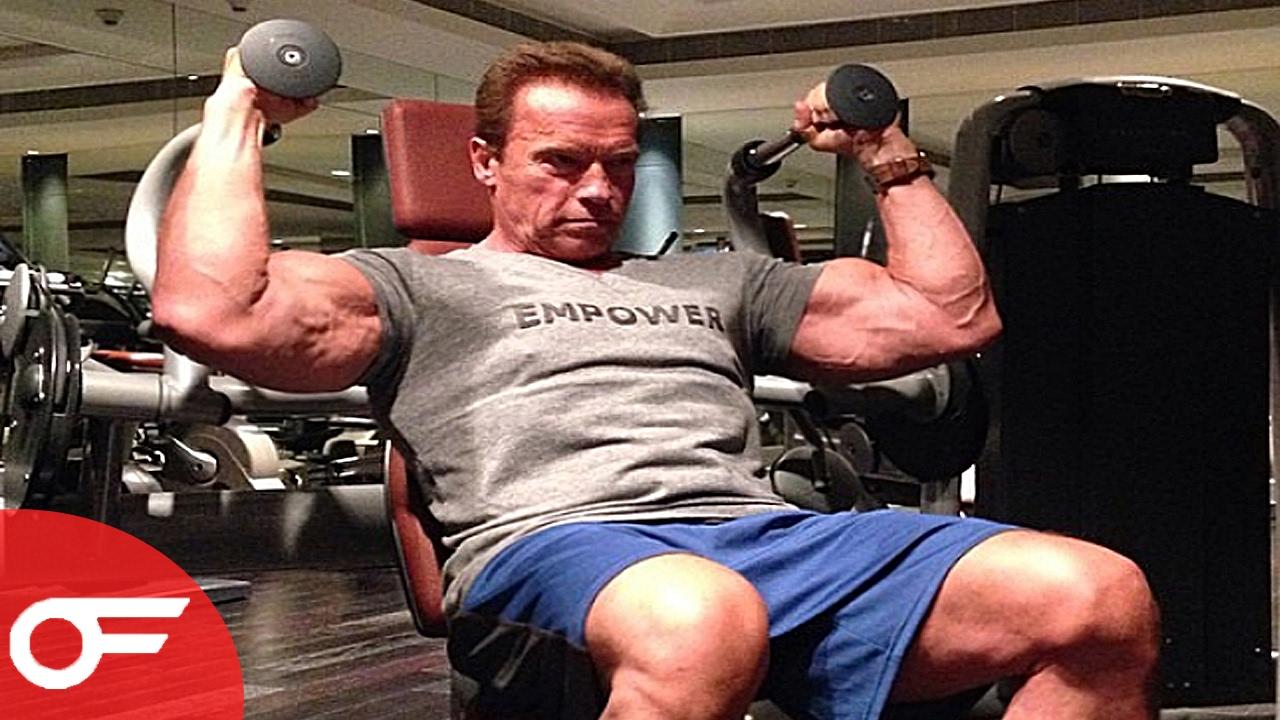 Arnold Schwarzenegger | IN THE GYM 2017 - YouTube