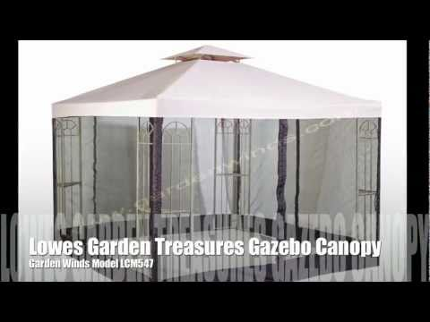 Replacement Canopy for the Lowes Garden Treasures Classic 10x10 Gazebo