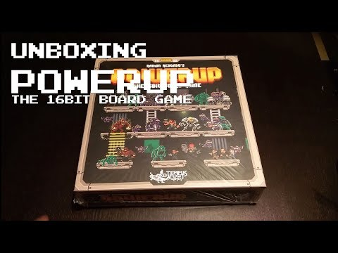 Unboxing POWERUP COREBOX