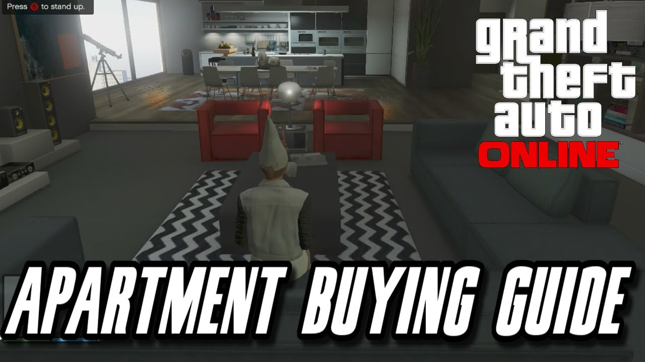 GTA 5 High Life Update : NEW Apartments Buying Guide And ...