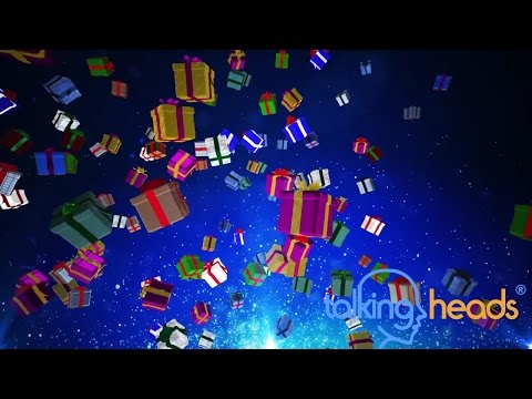 Animated Background 3d Christmas Pesents 2