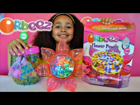 ORBEEZ FLOWER POWER LIGHT SHOW - Orbeez Playset Kids Review | Toys AndMe