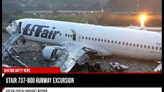 UTAir flight 579 | Runway excursion Accident | 1st Sept 2018