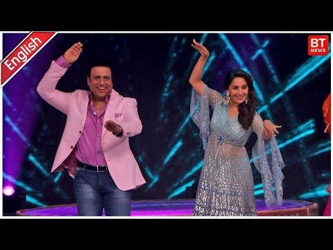 Madhuri Dixit & Govinda At  Dance Deewane Show | Madhuri Dixit & Govinda Dance Video Mp3
