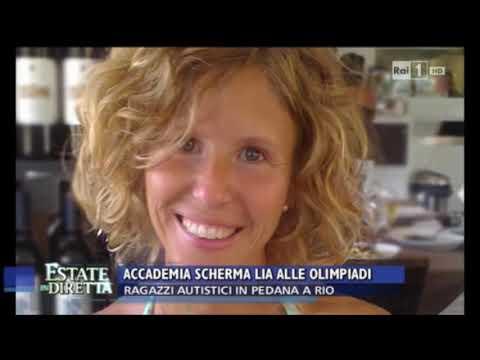 Accademia Scherma Lia e Progetto Aita Onlus su Estate in Diretta, Rai 1
