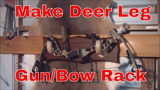 Deer Leg Gun Or Bow Rack