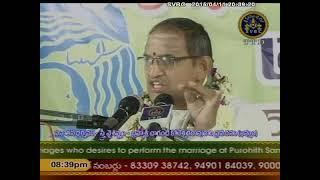 SVBC TTD-Chaganti  Pravachanam -Khammam 11-04-15