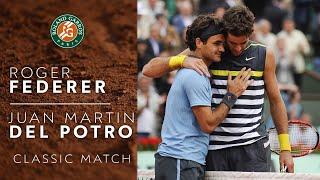 Roger Federer vs Juan Martín del Potro - 2009 Semi-final | Roland-Garros Classic Match