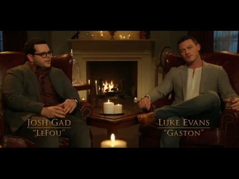 Luke Evans and Josh Gad Talk Beauty and the Beast - The Bachelor ABC