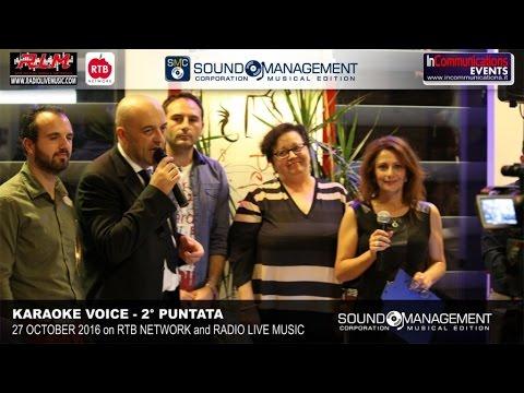 Karaoke Voice Live on RTB Network & Radio Live Music - 27 October 2016 - 2° Puntata