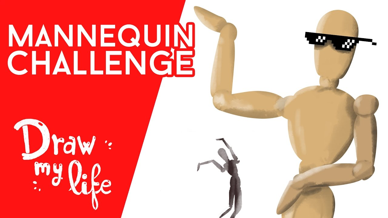 La HISTORIA del MANNEQUIN CHALLENGE - Draw My Life