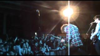 We just found this video of us supporting Example way back in Febru...
