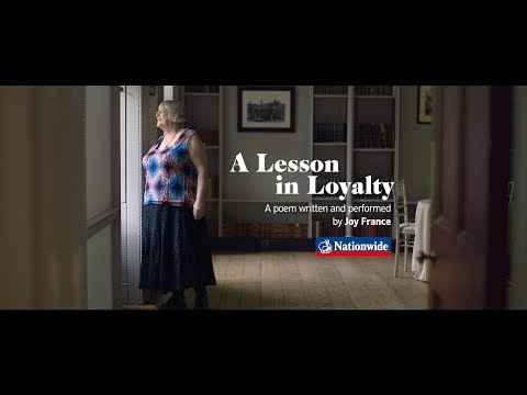 Voices Nationwide: Joy France on how loyalty is demonstrated | Nationwide Building Society