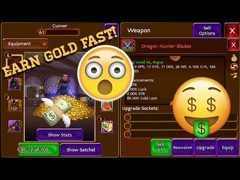 GET RICH FAST! (Arcane Legends)