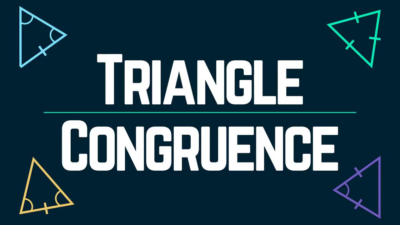 Triangle Congruence Criteria When Math Happens
