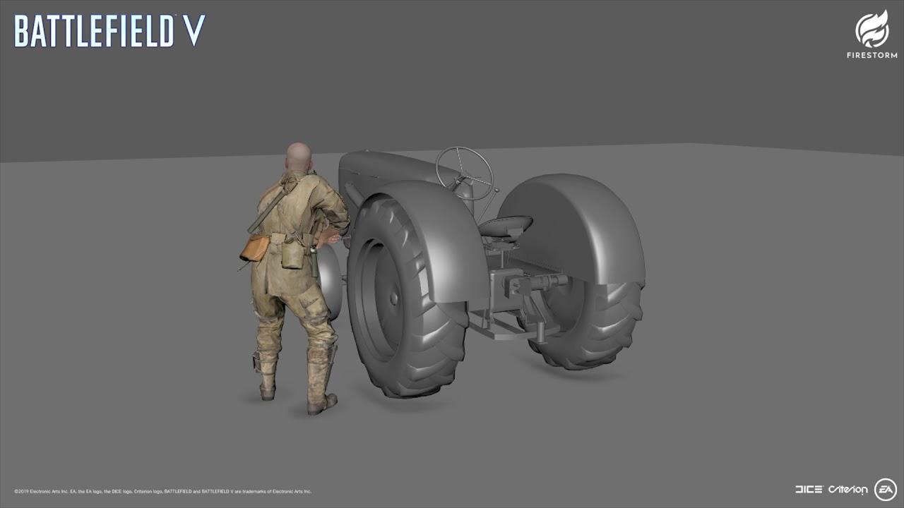 BFV FIRESTORM Tractor Animation
