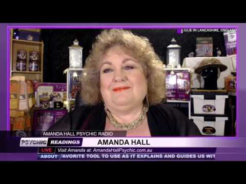 Amanda Hall Psychic - April 23, 2019