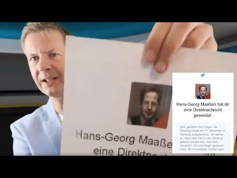 """Maaßen bestägt WIM: Angebliche Live-Diskussion über ehrliche Medien """"aufgezeichnet"""" und """"gekürzt"""""""