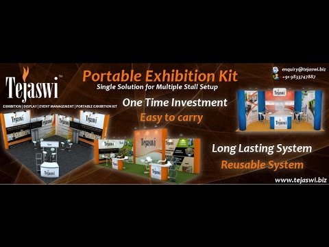 Portable Exhibition Kit Bangalore : Portable exhibition kit mumbai delhi bangalore chennai