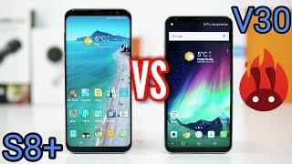 LG V30 VS Samsung Galaxy S8 Plus SPEED Test