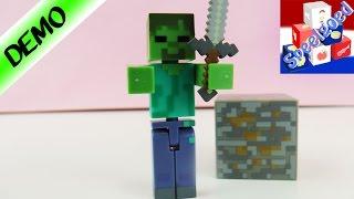 MINECRAFT ZOMBIE! Minecraft Figuur Met Blok Nederlands - Speel Met Mij