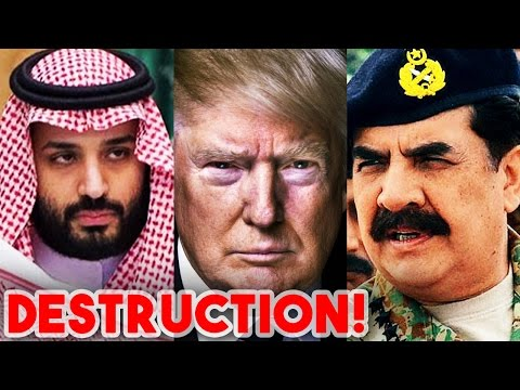 Trump Reaches Saudi Arabia to attend Raheel Sharif led Arab Nato