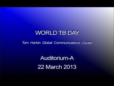 2013 CDC World TB Day Observance