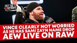 VINCE LOST HIS MIND & MENTIONS AEW ON RAW | WWE Raw May 27, 2019 Full Show Review & Results