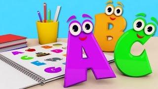 Азбука Вчимо Англійську мову/ABC Kids Song Nursery розвиваючий мультик гра