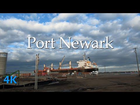 Driving Tour of Port Newark–Elizabeth Marine Terminal