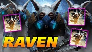 Raven Meepo the Geomancer - POOF MASTER - Dota 2 Pro Gameplay