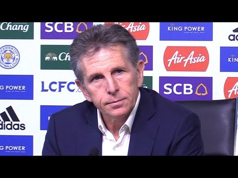Claude Puel Full Pre-Match Press Conference - Arsenal v Leicester - Premier League