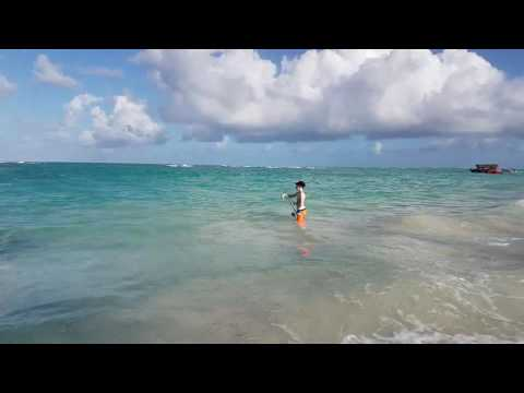 Surf Casting In Punta Cana.