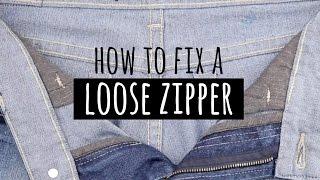 How to fix a loose Zipper!