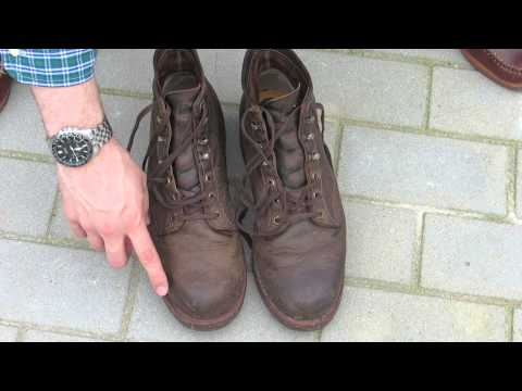 """Chippewa Boots - 6"""" Rugged Handcrafted Lace-Up - 1 Year Later"""