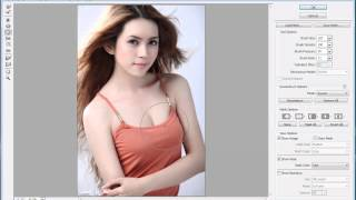 how to make the breast bigger in photoshop