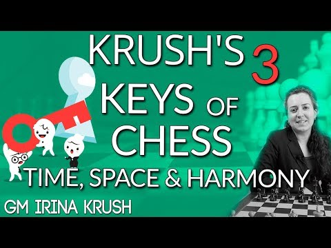 What are the 3 keys of chess?? - GM Irina Krush [Master Method]