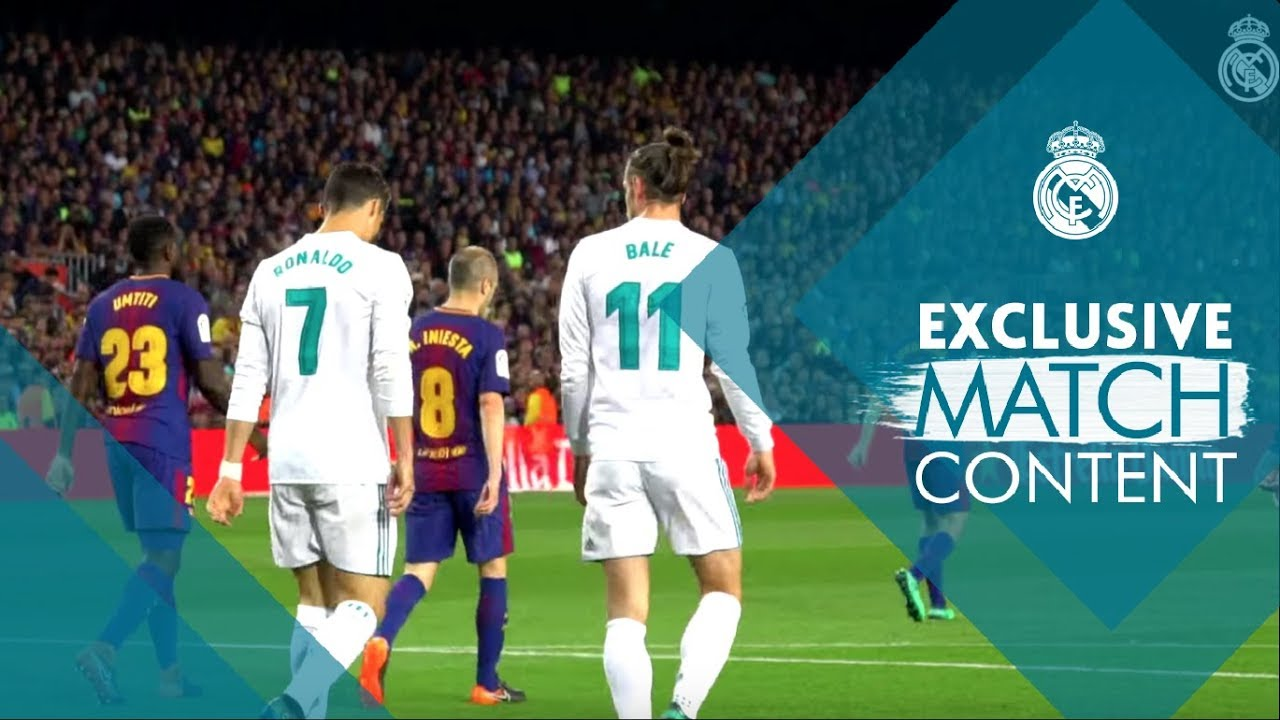 Barcelona vs Real Madrid 2 - 2  78262f5715fe6