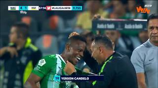 Nacional vs. Huila (4-1)   Liga Aguila 2019-II   Fecha 4
