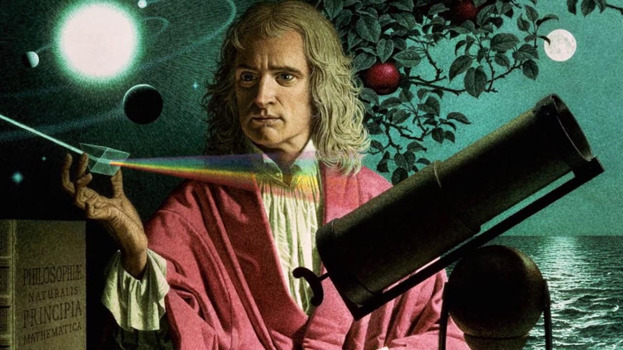 Issac Newton: Born January 4, 1643 - YouTube