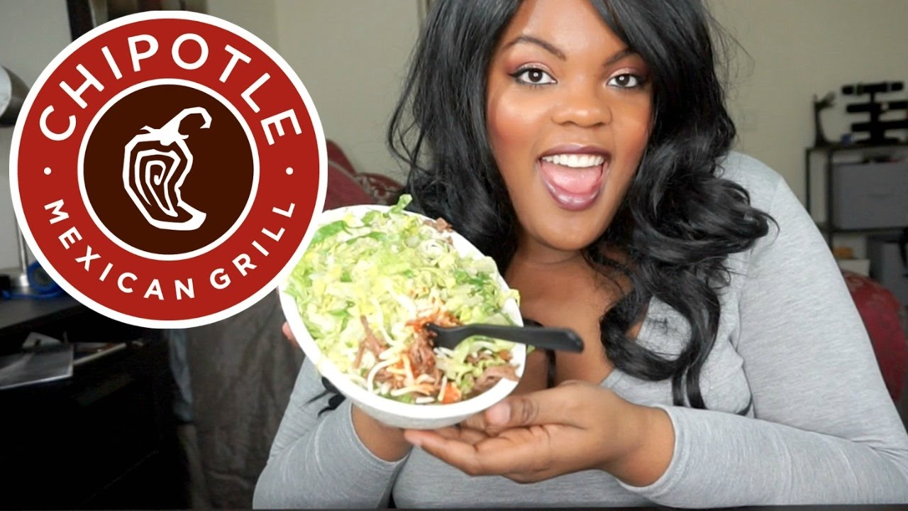 Chipotle Burrito Bowl MUKBANG | Starting a Ketogenic Diet (Eating Show) - YouTube