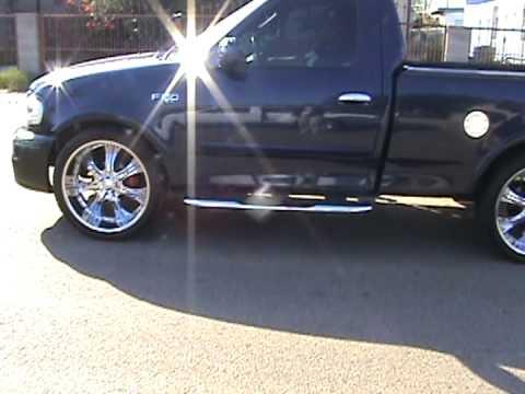 2003 Ford F150 24inch Wheels Youtube