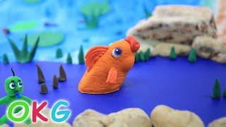 Unser Bester, Grün, Baby, Cartoons - Play-Doh & Ton-Trickfilm Für Kinder